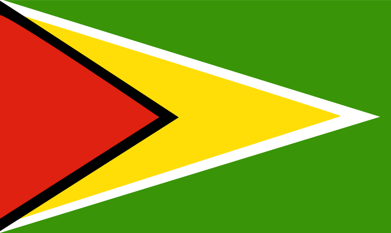 Flag of Guyana by Anonymous - Flag of Guyana.