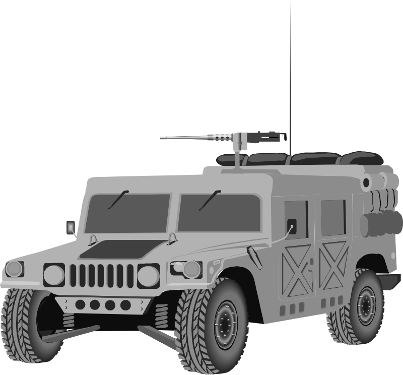 Humvee by Anonymous - Humvee illustration.