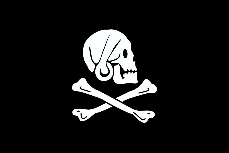 pirate flag - Henry Every by Anonymous - Pirate flag - Henry Every.