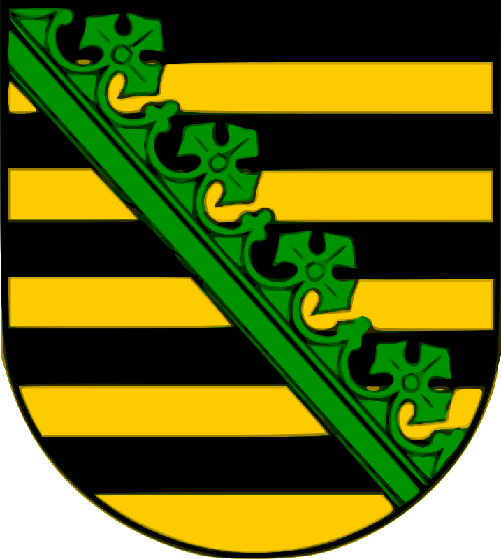 Saxony coat of arms by Anonymous -