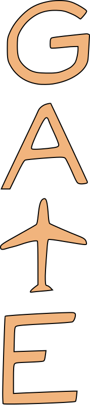 airport gate clipart - photo #19