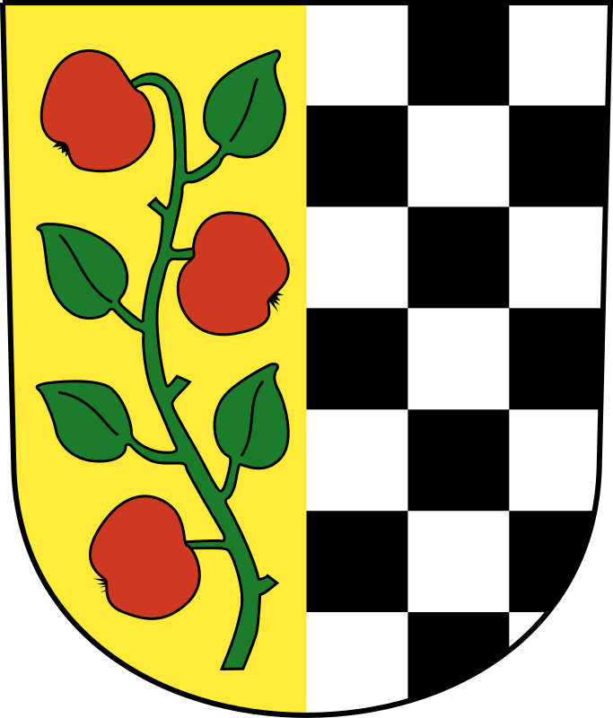 Swiss Affoltern am Albis Coat of arms as a Shield by wipp