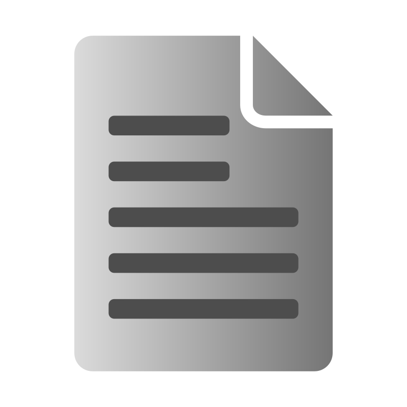 Text File Icon by kuba
