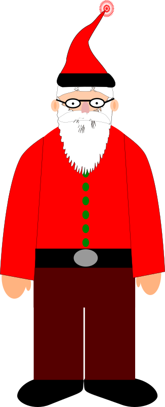 Santa by semjaza - Santa or one of his elves.