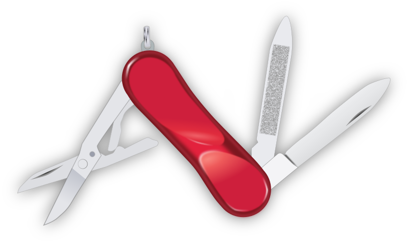 swiss knife by yves_guillou