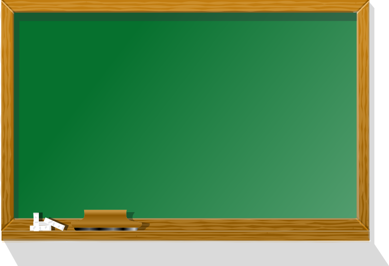 blackboard by rg1024