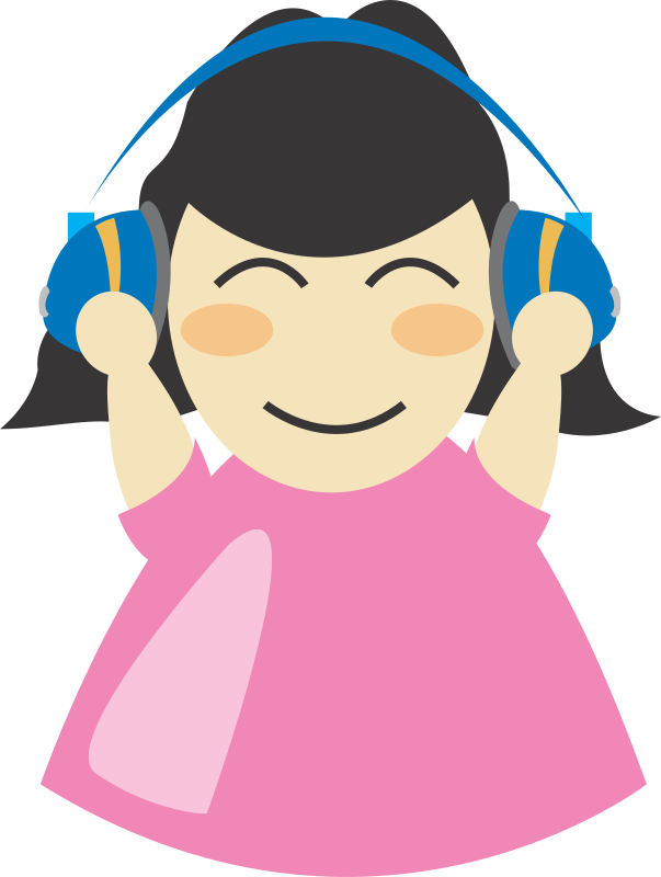 Girl with headphone2 by dcatcherex - Girl with headphone2