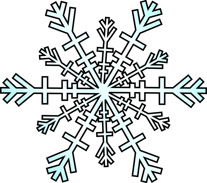 snowflake by bugmenot - A snowflake viewed from the front.