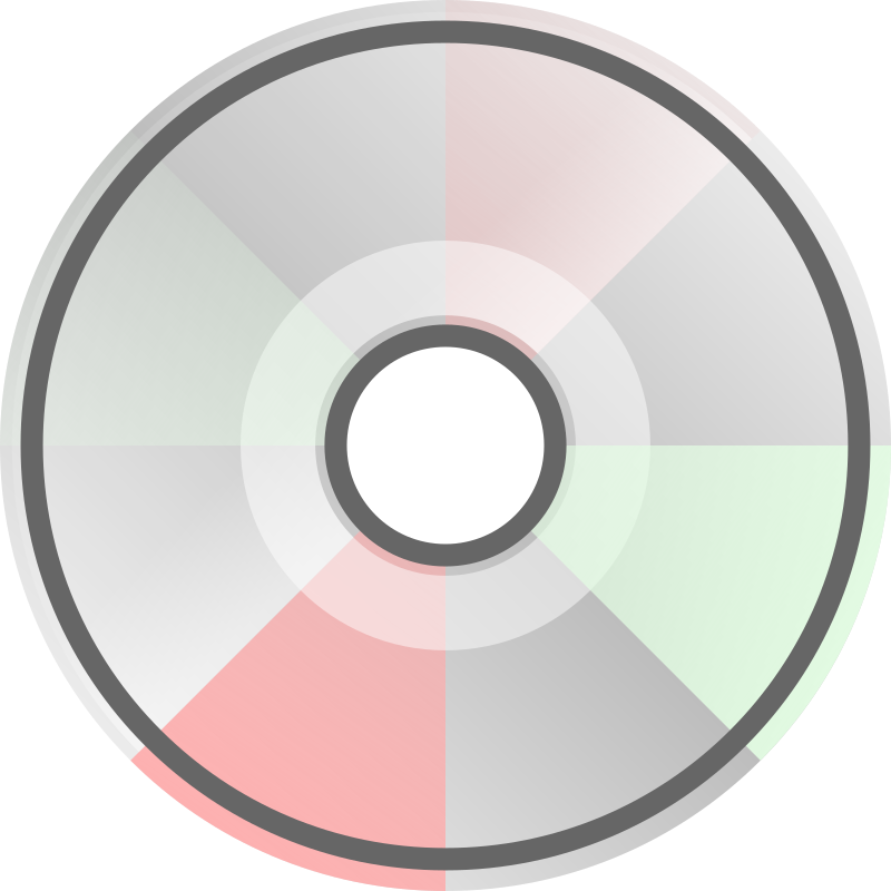 Compact Disc by barretr - A compact disc icon.