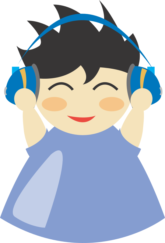 Boy with headphone5 by dcatcherex - Boy with headphone5