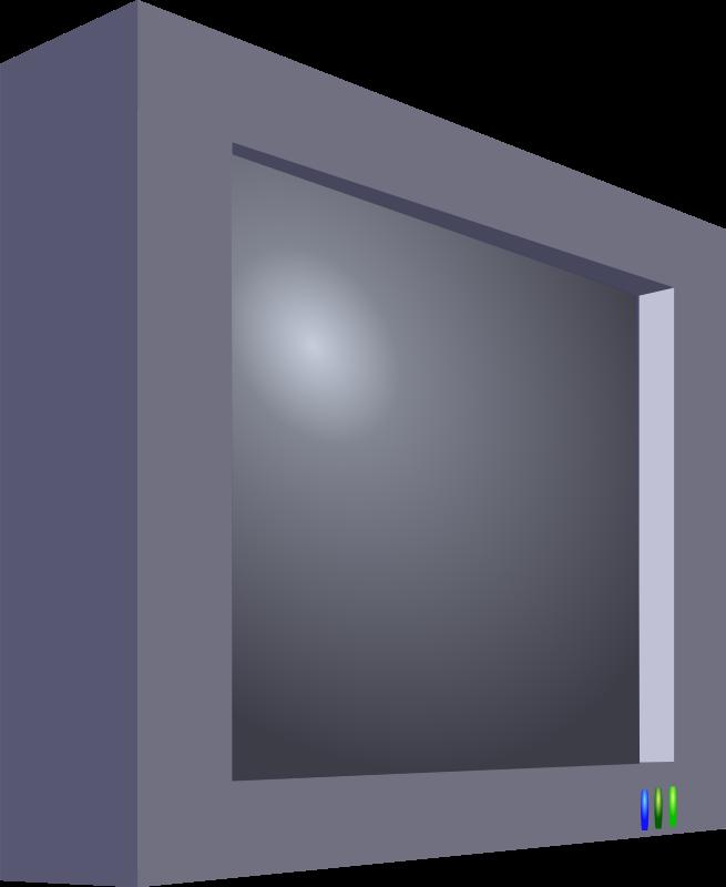 Clipart - Flatscreen TV