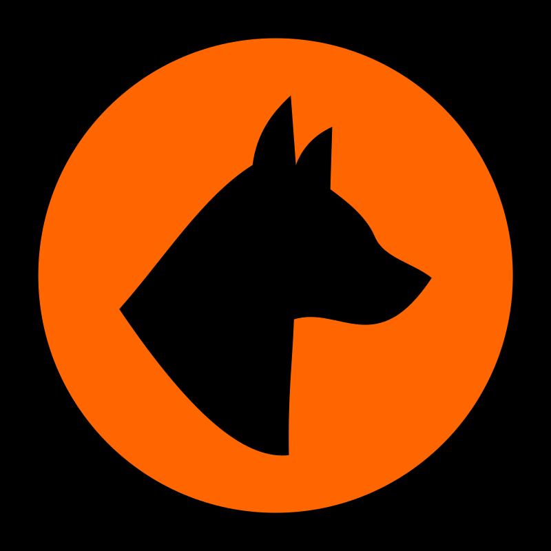 Clipart - Dog hazard 1
