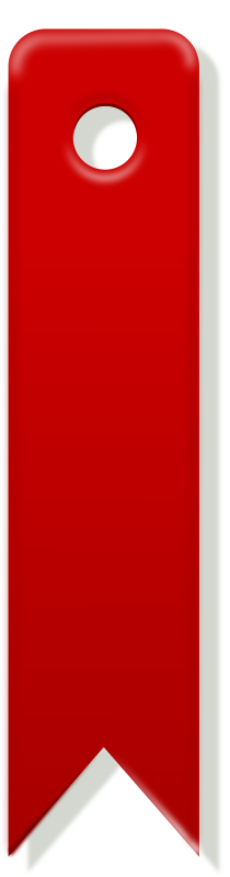 red bookmark by rg1024 - red bookmark.