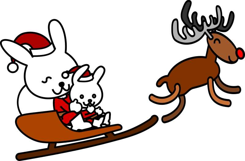 Santa rabbit by shu