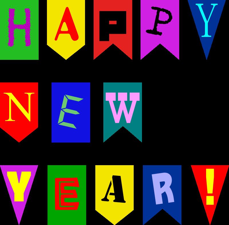 Microsoft Clipart Happy New Year