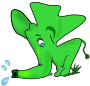 Little green elephant />