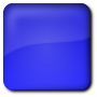Custom color round square button />