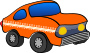 orange funny car Thumbnail