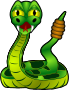 Cartoon Rattlesnake />