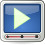 Tango-styled video player icon