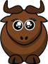 Cartoon Gnu Eyes2