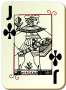 Guyenne deck: Jack of clubs