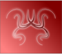 Red swirls />