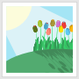 Tulips on a Hill Thumbnail