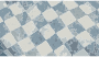 Flat checker pattern in blue and white Thumbnail