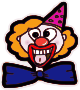 Clown Face />