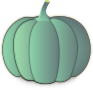A crown pumpkin