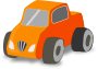 Simple Toy car truck />