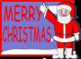 greeting card with santa