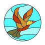 Bird Stained Glass />
