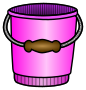 bucket - coloured