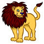 lion - coloured