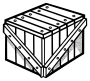 crate - lineart