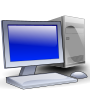 Generic desktop PC with screen and mouse Thumbnail