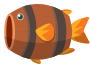 Barrel Fish Animation