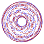 Simple Red Blue Spirograph Thumbnail