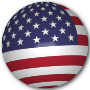 USA Flag Sphere Thumbnail