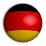 German Flag Sphere Variation 2