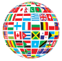 World Flags Globe