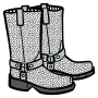boots - lineart