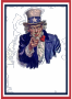 Uncle Sam World War Two Poster