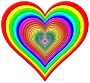 Rainbowrific Heart Enhanced