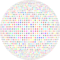 Colorful Stars Sphere