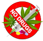 No Drugs: Weed, Speed or Pills!