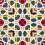 Islamic Geometric Tile 8