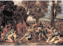 The Striking Of The Rock Nicolas Poussin Thumbnail